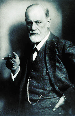 Freud - In posa per ritratto fotografico