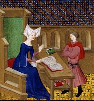 Christine de Pisan & son