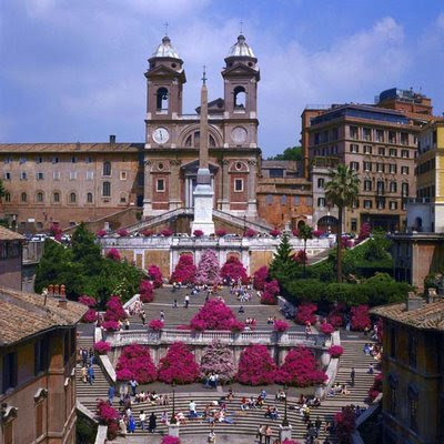 Rome, The Spanish Steps