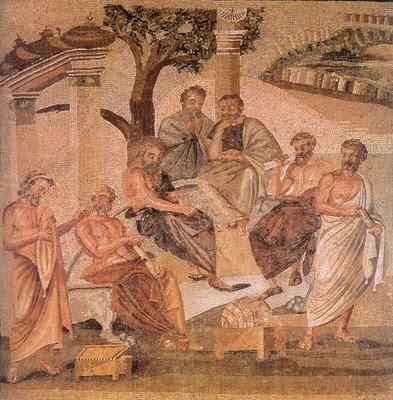 Apologia di Socrate, mosaico