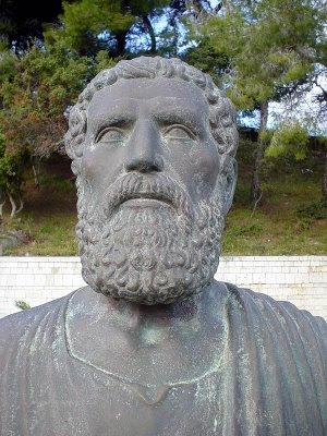 Statua di Senofonte a Olimpia