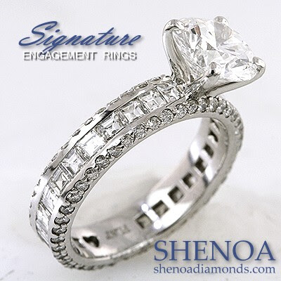 Ebay Wedding Bands on Shenoa   Co  Diamonds   Diamond Engagement Rings
