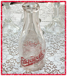Edgewater Chicago Milk Bottle