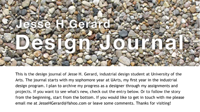 JHG - Design Journal