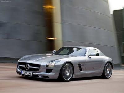 Mercedes SLS AMG 2011 rebaixado tuning