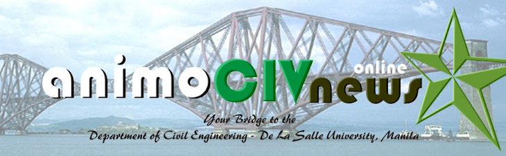 Civil Engineering Dept., DLSU-Manila - AnimoCIVnews:Online