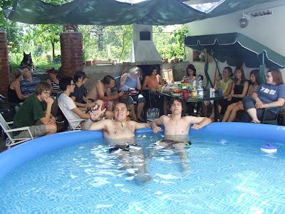 setkání týmu pro English camp Písek