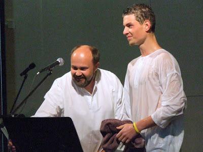 Lukáše Jindru pokřtil bratr kazatel Tomáš Pospíchal