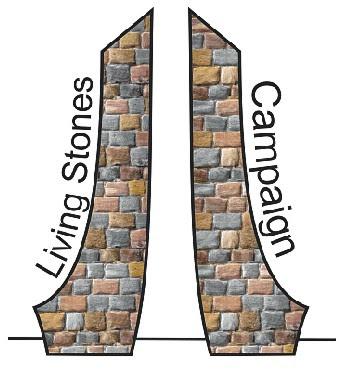 logo kampaně 100 svědectví / Living Stones Campaign