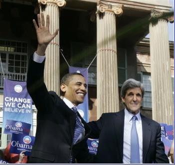 John Kerry Endorses Barack Obama; Sends Email To Me