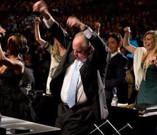 Miss America 2010 Winner: Rush Limbaugh dancing to Lady Gaga