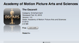 Oscar gets an iPhone app before Academy Awards - Twitter next?