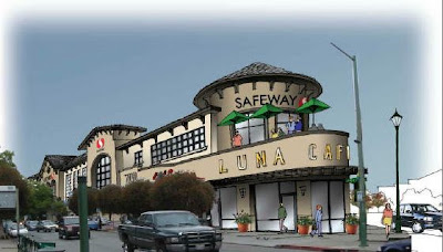 Safeway Design For Rockridge is Terrible; Out of Scale With Surroundings