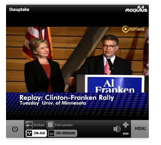 Sen. Hillary Clinton Introduces Al Franken For Senator - Minnesota