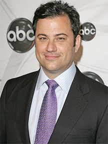 Jimmy Kimmel says he didn't joke about David Letterman