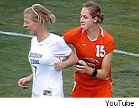 New Mexico Soccer Player suspended; Elizabeth Lambert threw fists, pulled hair