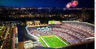 San Francisco 49ers proposed new San Francisco stadium