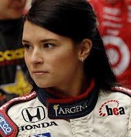 Danica Patrick, the Indy 500 driver, almost wins Indy 500