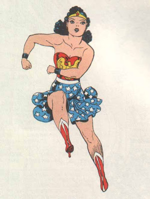 Wonder Woman, bring back the legs and the flag, please