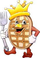 Kings Inn Hotel San Diego The Waffle House Breakfast before Comic Con Day 2