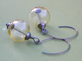 Halle-Hand Blown Glass Earrings