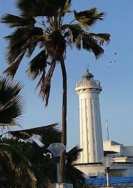 Phare de Pondichéry (Inde)