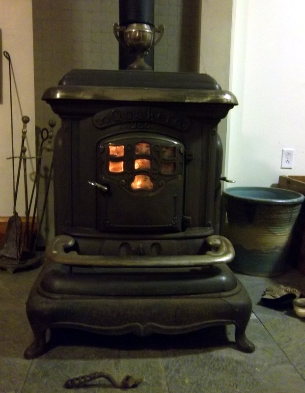 introducing our magnificent woodstove