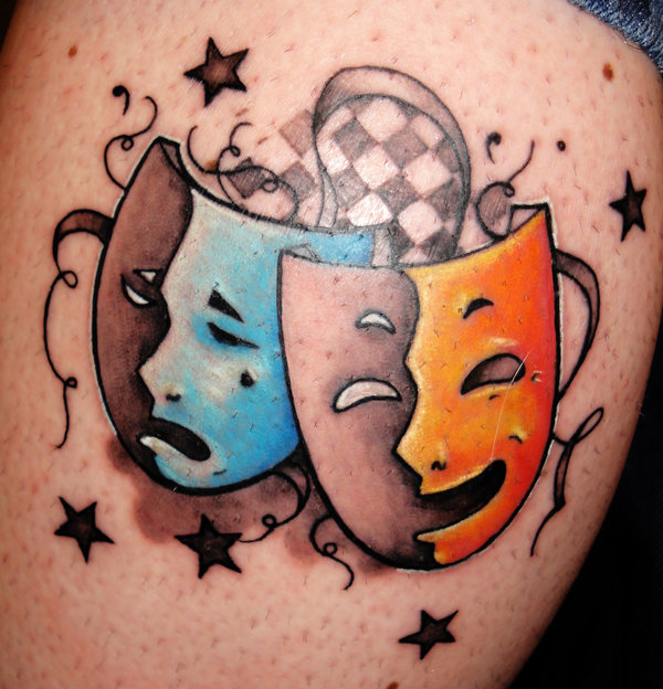 Данная татуировка смотрится очень