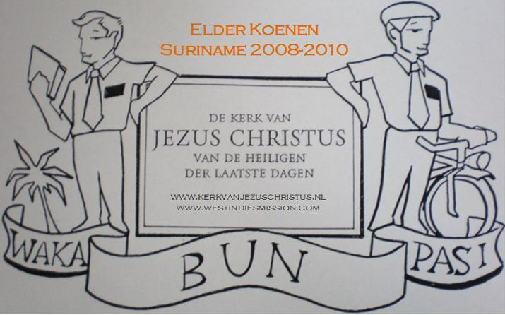 Elder Koenen- Suriname 2008/2010