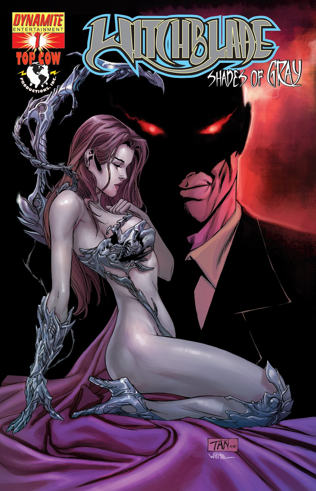 Read online Witchblade: Shades of Gray comic -  Issue #1 - 1