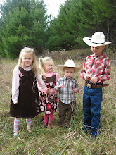 Our cowboy and his posse