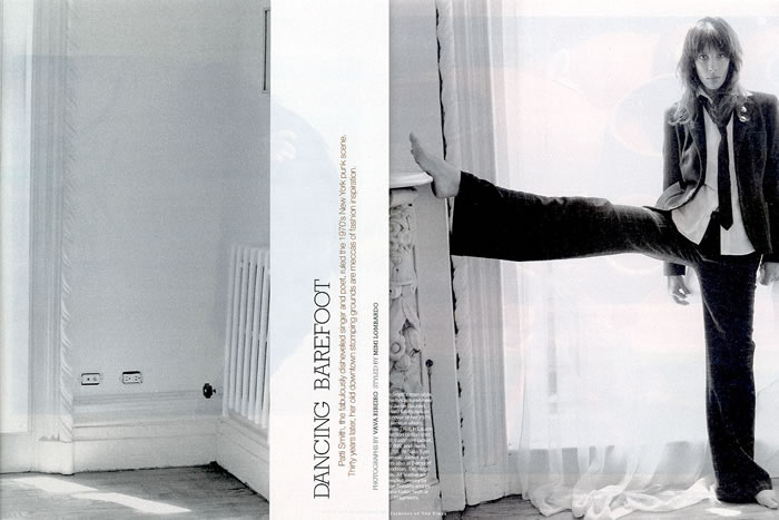 FashionIsForLoosers: ANN DEMEULEMEESTER, BUT PATTI SMITH  FashionIsForLoo...