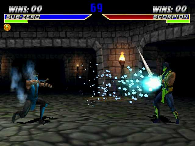 sub zero vs scorpion mortal kombat. sub zero vs scorpion mortal