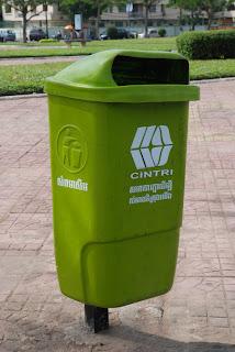 Poubelles publiques CINTRI - Phnom Penh