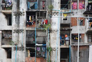 Façade du Building - Phnom Penh, Vann Molyvann