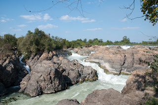 Laos, Si Phan Don - Les 4000 îles - Cascades