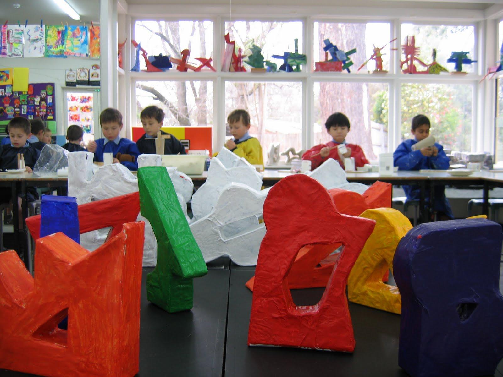 Minimalist Classroom Noise ~ Art teacher mini minimalist monuments