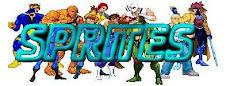 Visualizá los Sprites de los personajes