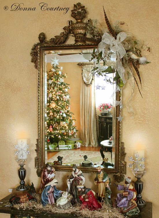 Christmas crib art ideas baby crib design inspiration for Decoration epiphanie