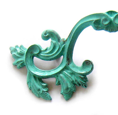 How to Create Aged Turquoise Patina - The Decorated House