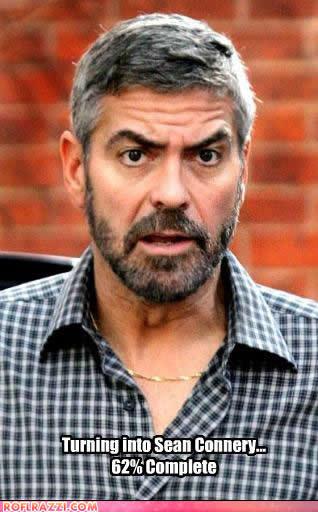 george clooney gay. because George Clooney is