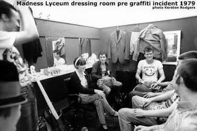 Los Madness en el Lyceum, antes de liarla...
