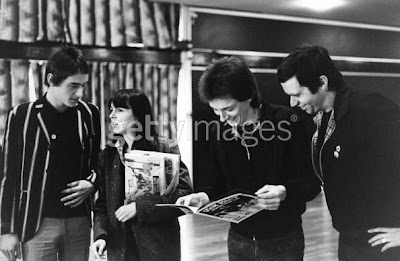 Paul, Gill, Bruce y Garry Bushell