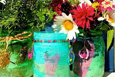 Make a beautiful vase or lantern