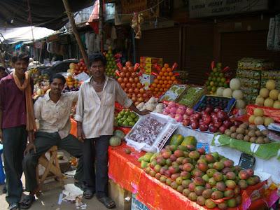 Продвцы фруктов