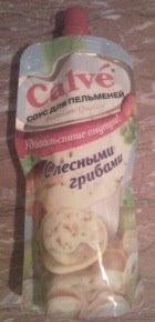 Соус «Calve» «С лесными грибами»