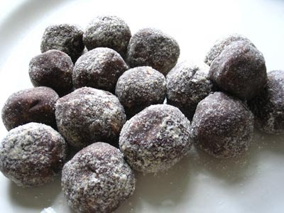 Carob Balls Recipe