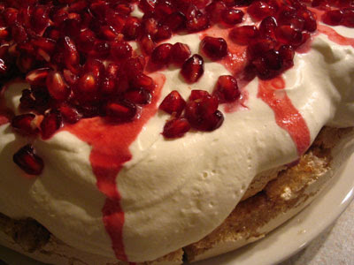 Nigella Lawson's Christmas Pavlova