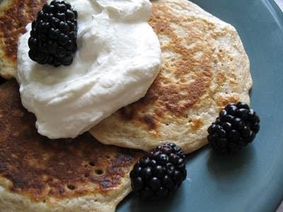 Vanilla Oat Pancakes