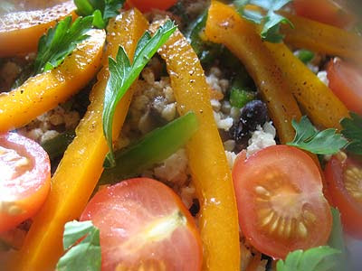 Mexican-Style Black Bean and Millet Salad